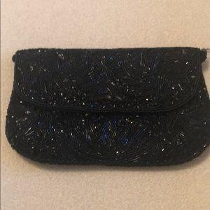 Handbags - Beaded clutch/shoulder evening bag